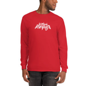 Victor's Rampage - Men's Long Sleeve T-Shirt - Red