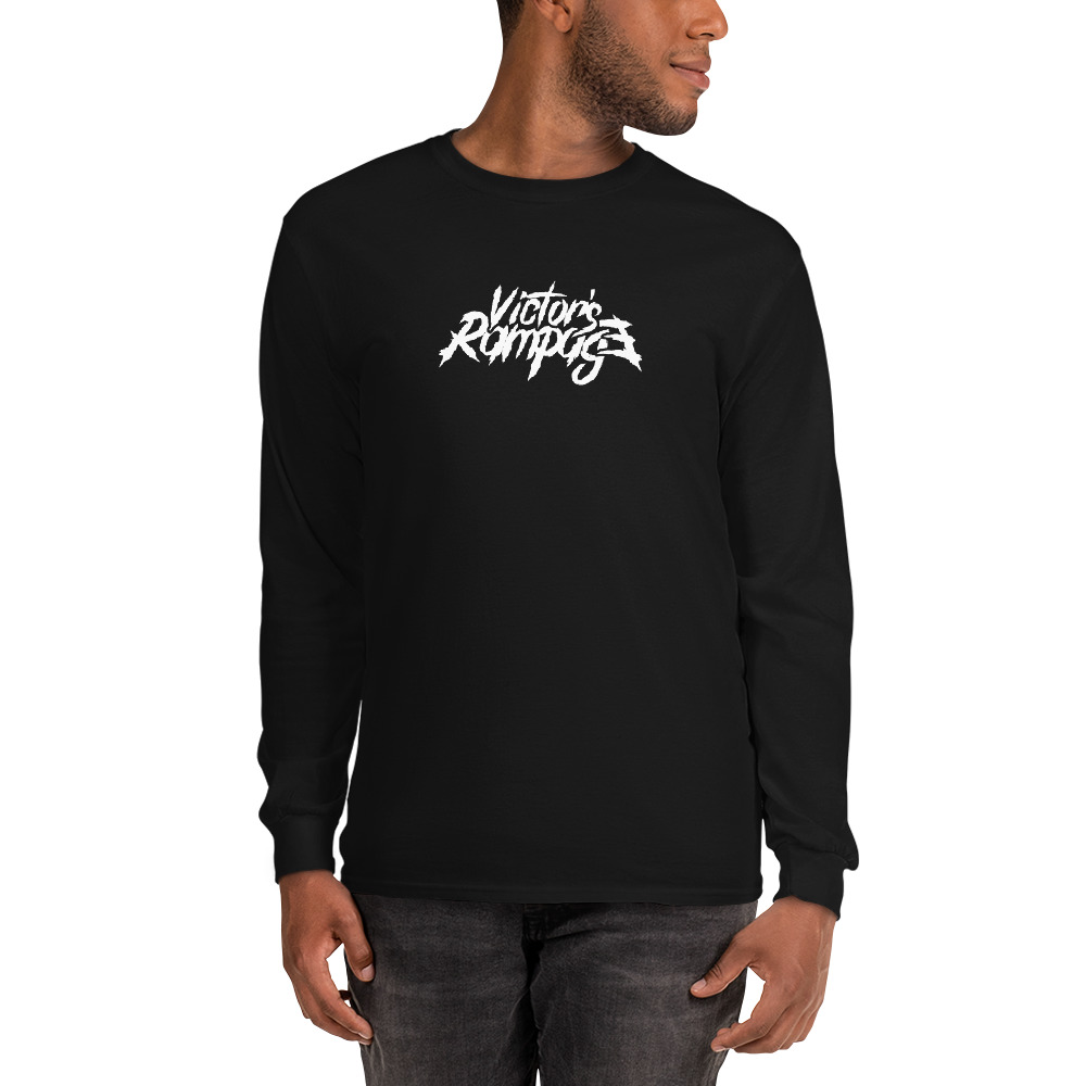 Victor's Rampage - Men's Long Sleeve T-Shirt - Black