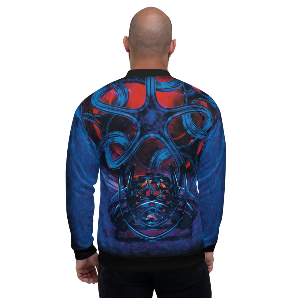 Victor's Rampage - Bomber Jacket - Infinite Elbow - Back 1