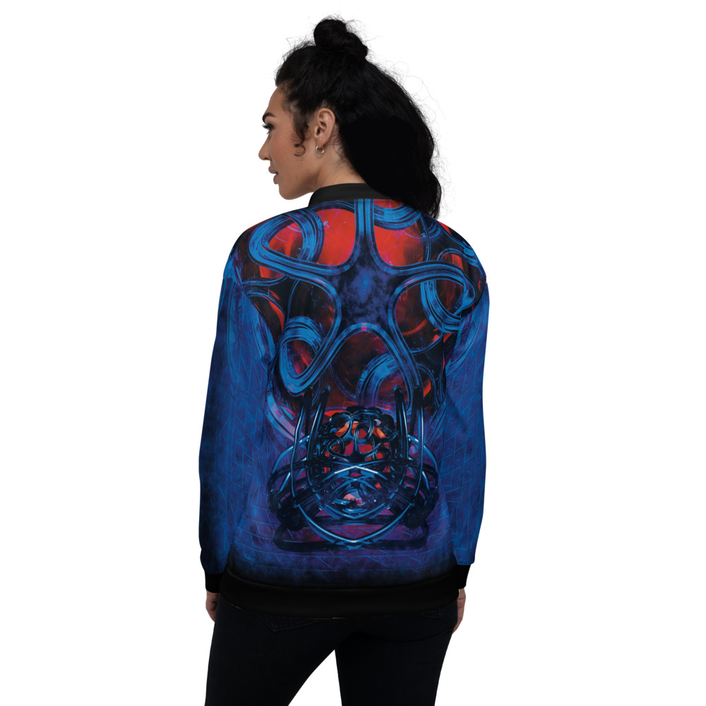 Victor's Rampage - Bomber Jacket - Infinite Elbow - Back 2