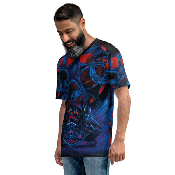 Victor's Rampage - Men's T-Shirt - Infinite Elbow - Side 1