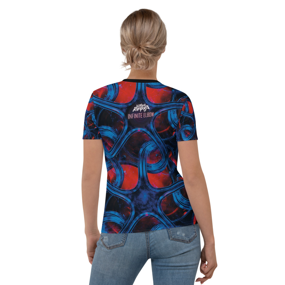 Victor's Rampage - Woman's T-Shirt - Infinite Elbow - Back